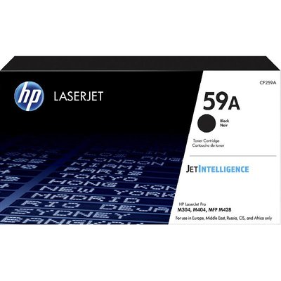 Cartridge Toner LaserJet hp 59A Black