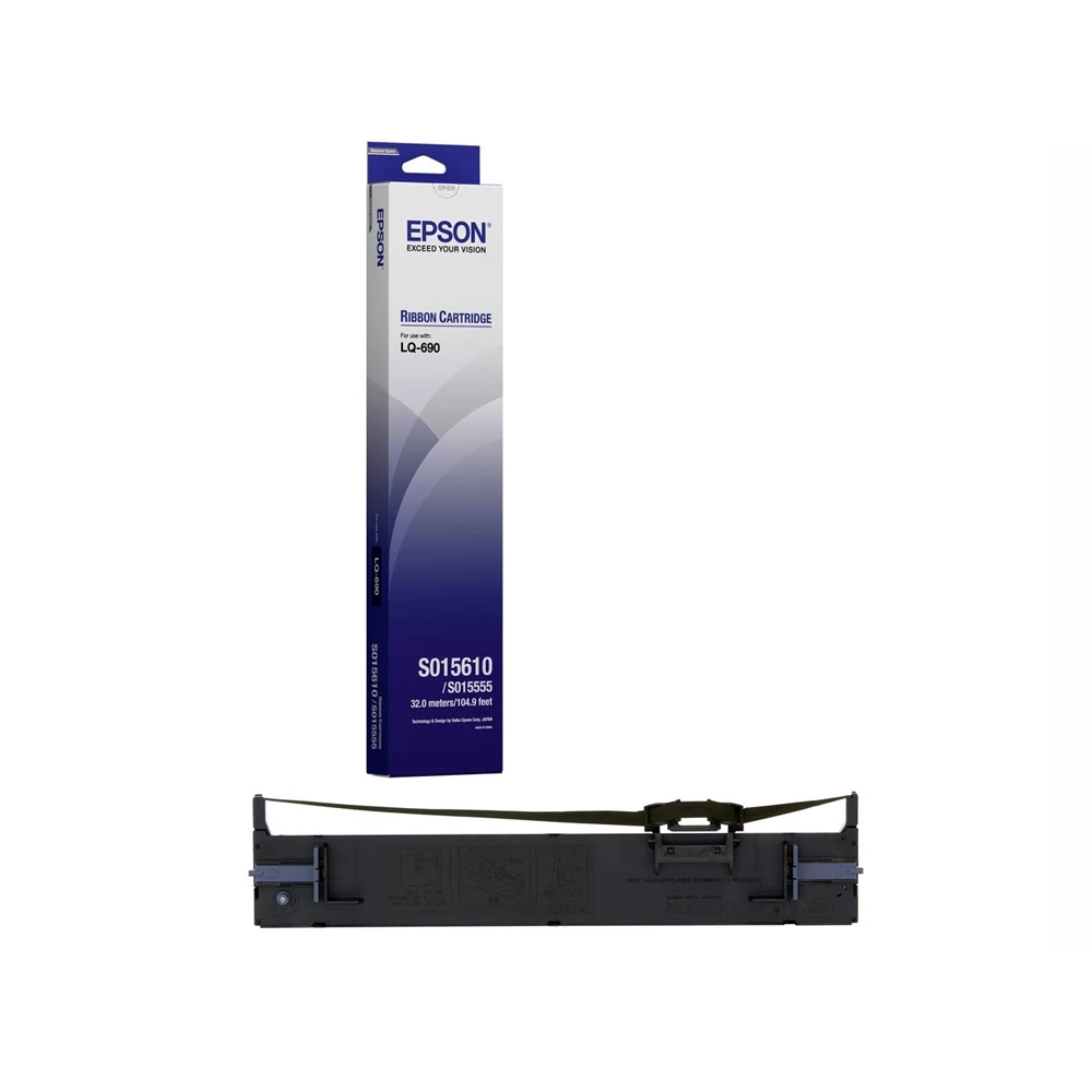 Epson Black Ribbon Cartridge for LQ-690