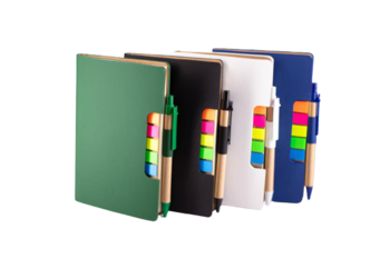 Sticky Notebook A6 (White, 10 Pieces for)