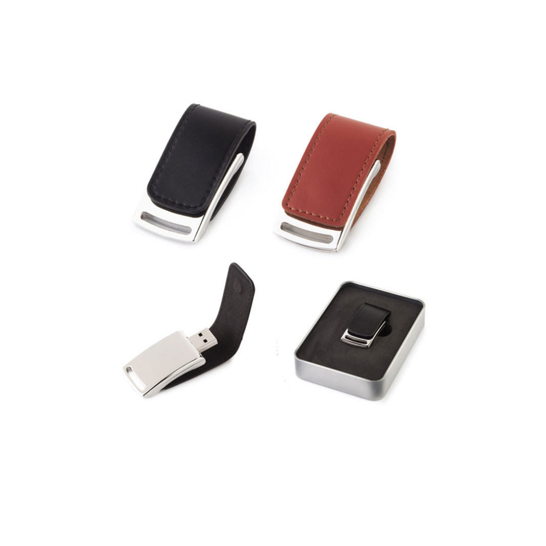 Leather USB (Red, 50 Pieces for)